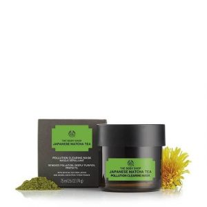 Mặt Nạ The Body Shop Japanese Matcha Tea Pollution Clearing Mask