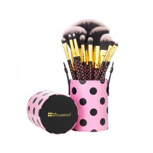 Bộ cọ BH Cosmetic Pink-A-Dot 11 Piece Brush Set